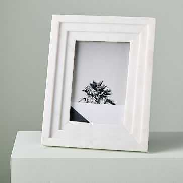 Textured Marble Frame, Rectangle - West Elm