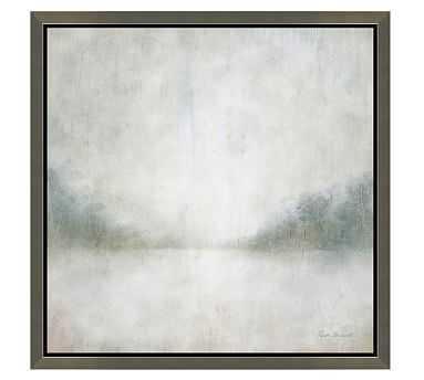 "Cool Landscape Framed Canvas, 50 x 50"" - Pottery Barn"