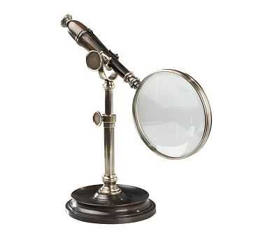 Magnifying Glass on Stand, Bronze - Pottery Barn