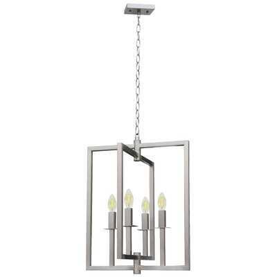 Pellegrino 4-Light Square Chandelier - Wayfair