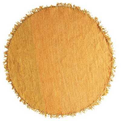 Sadler Hand-Knotted Mustard Area Rug - Wayfair