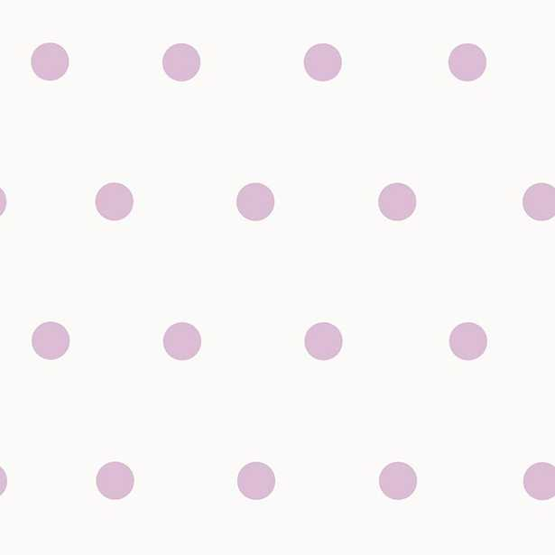 Kenley Purple Polka Dots Wallpaper - Home Depot