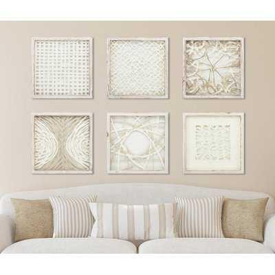 'Natural Elements' 6 Piece Picture Frame Graphic Art Set - Birch Lane