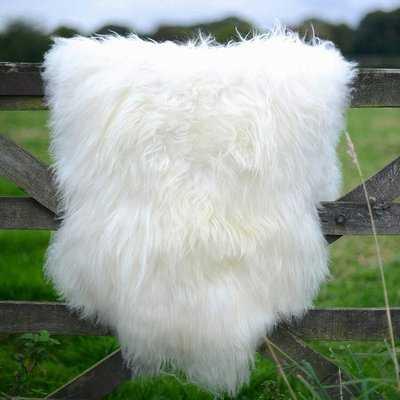 Beaucet Giant Size Genuine Sheepskin Soft Wool White Area Rug - Wayfair