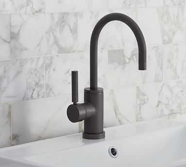 Hampton Sink Faucet, Antique Bronze - Pottery Barn