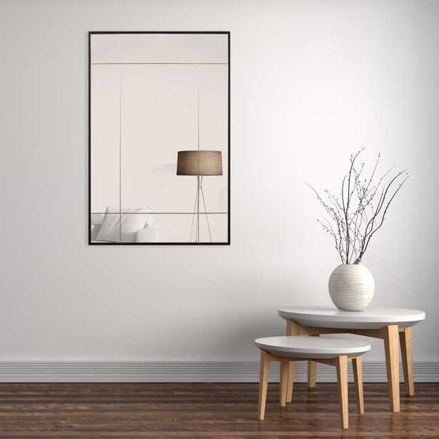 24 in. x 36 in. Black Metal Framed Geometric Wall MirrorGeometric 24 in. x 36 in. Black Metal Framed Wall Mirror - Home Depot
