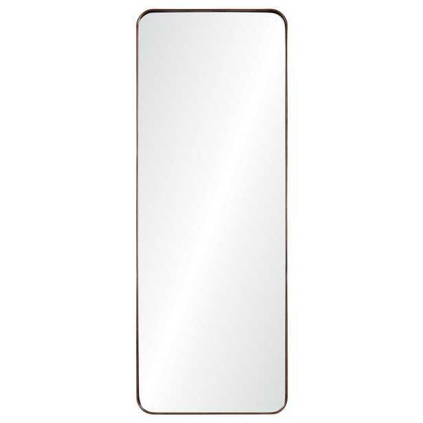 Phiale 53 in. x 19.75 in. Framed Wall Mirror - Home Depot
