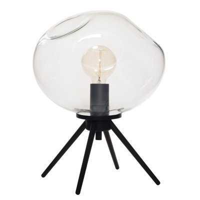 Handblown Glass Organic Uplight Table Lamp - AllModern