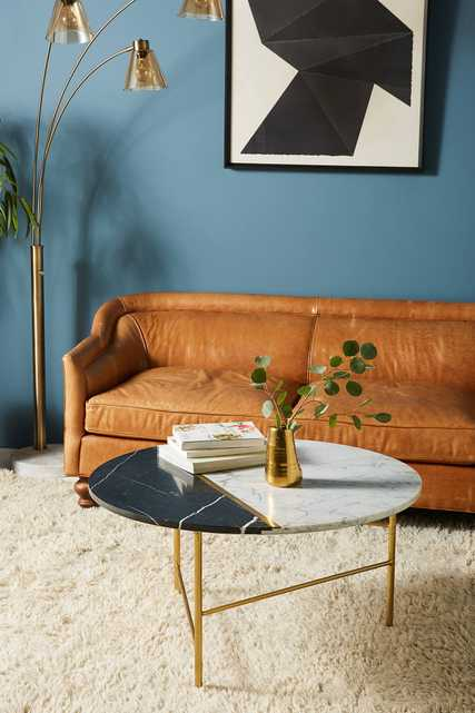 Pieced Marble Coffee Table - Anthropologie