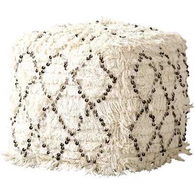 Tianna Moroccan Wedding Quilt Ottoman - Wayfair