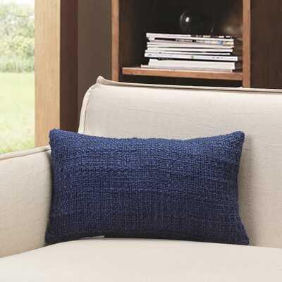 Rivoli Knit Lumbar Pillow - Wayfair