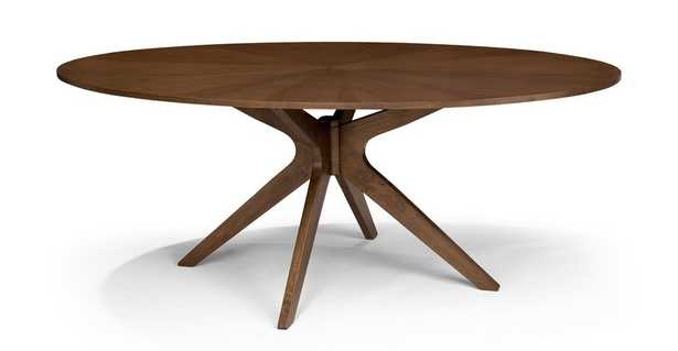 """Conan 75"""" Oval Dining Table - Article"""