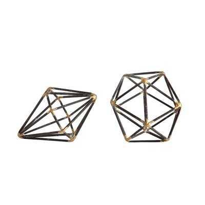 Wilken Metal Geometric Orb - AllModern