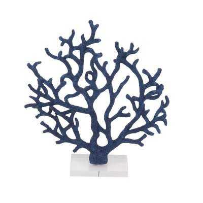 Dunlap Coastal Branched Coral Figurine - Wayfair