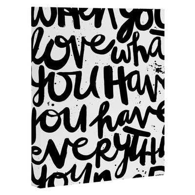 'If You Love' Textual Art - Wayfair
