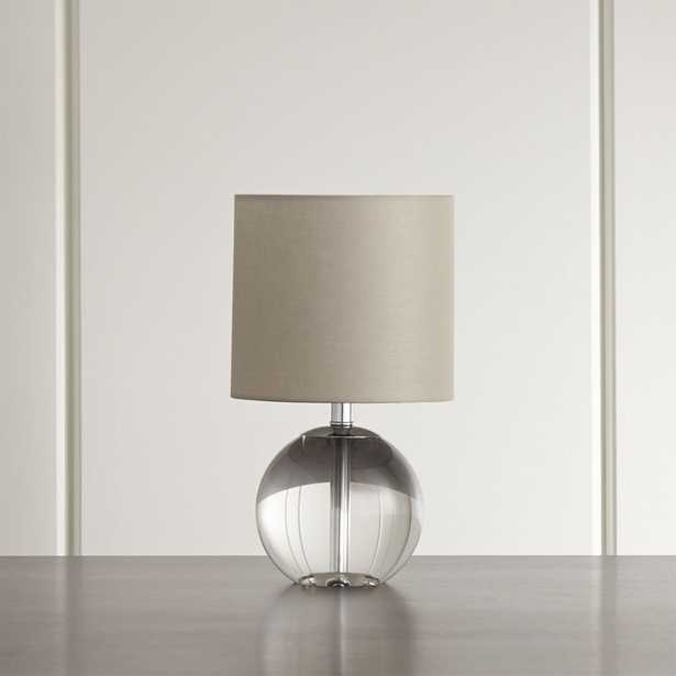 Sybil Globe Crystal Table Lamp, Set of 2 - Crate and Barrel