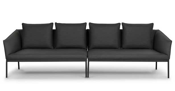 Palo Sula Gray Sectional - Article