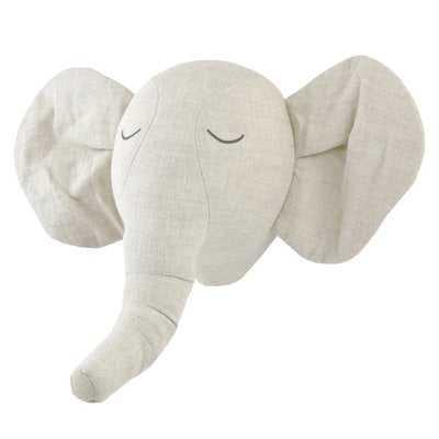 Fairbury Plush Elephant Head - Wayfair