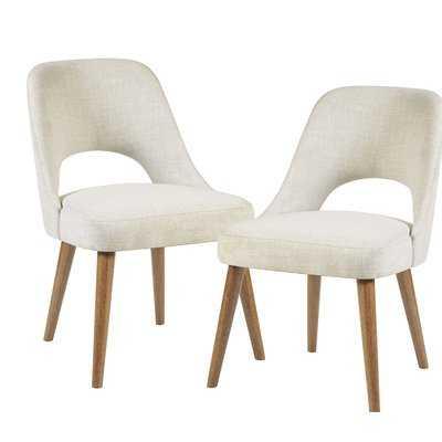 Berardi Upholstered Dining Chair (Set of 2) - Wayfair