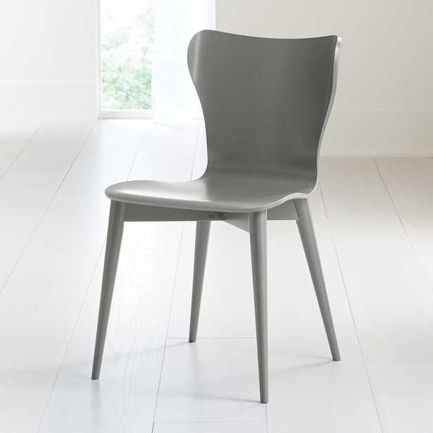 Brera Grey Bentwood Dining Chair - Crate and Barrel