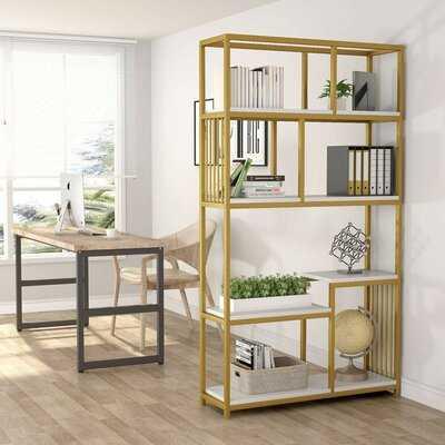 Hanrahan Etagere Bookcase - Wayfair