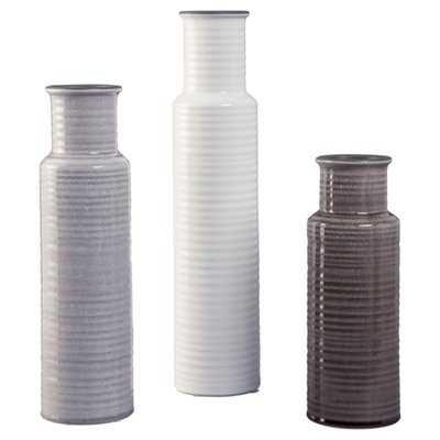 Unadilla 3 Piece Table Vase Set - Wayfair