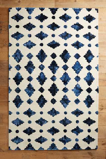 Moroccan Tile Rug, 5' x 8' - Anthropologie