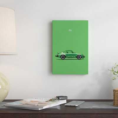 'Porsche 911 Carrera' Graphic Art Print on Canvas - Wayfair