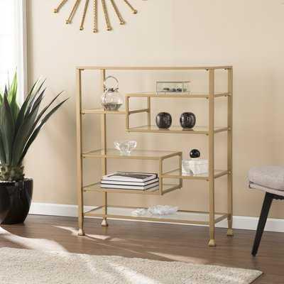 Blue Hill Etagere Bookcase - Wayfair