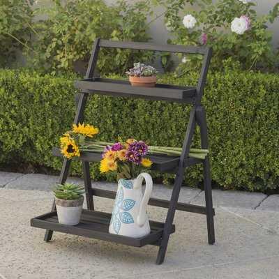 Goreville Modern Outdoor Multi-Tiered Plant Stand - Wayfair