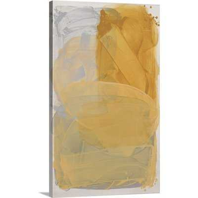"""'Primary Layers II' by Kari Taylor Painting Print on Canvas 30"""" H x 18"""" W x 1.5"""" D Size - Wayfair"""
