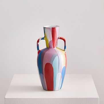 """Limited Edition Expressionist Vase, Amphora, 11.5"""" - West Elm"""