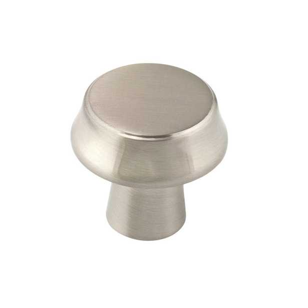 Richelieu Hardware Contemporary 1-1/16 in. (25 mm) Brushed Nickel Cabinet Knob - Home Depot