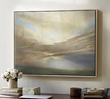 """September Framed Canvas, 36 x 27"""" - Pottery Barn"""