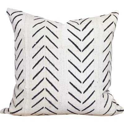 Newfolden Arrow Chevron Print Cotton Throw Pillow Cover - Wayfair