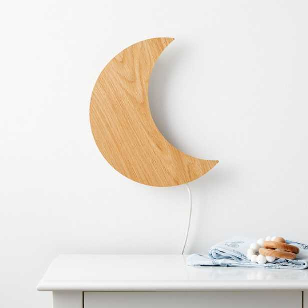 Crescent Moon Wall Night Light - Crate and Barrel