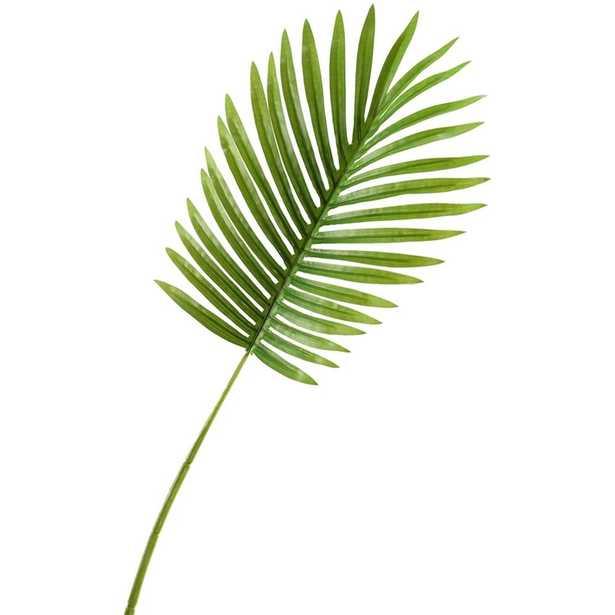 D&W Silks Indoor Small Hawaiian Palm Leaf (Set of 3) - Home Depot