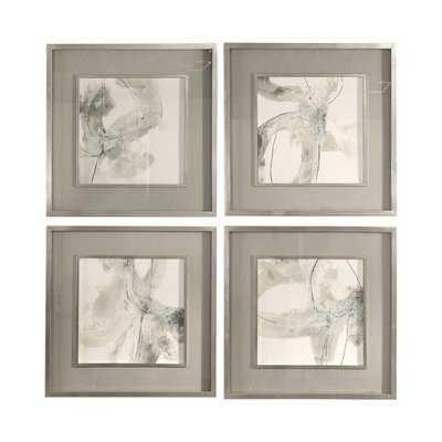'Divination' 4 Piece Framed Print Set - Wayfair