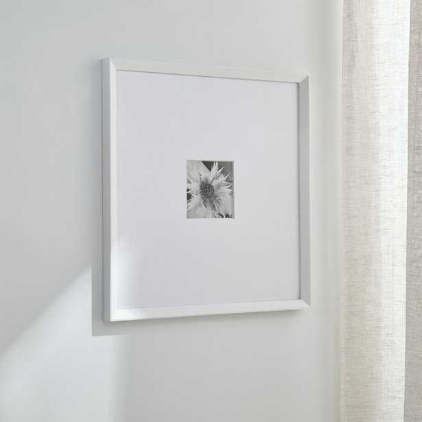 Icon 5x5 White Wall Frame - Crate and Barrel