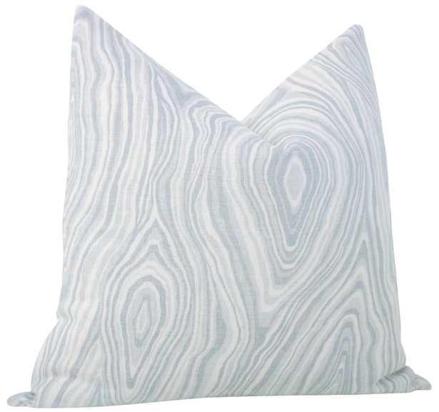 "Agate Linen Print // mist - 12"" X 18"" - Little Design Company"