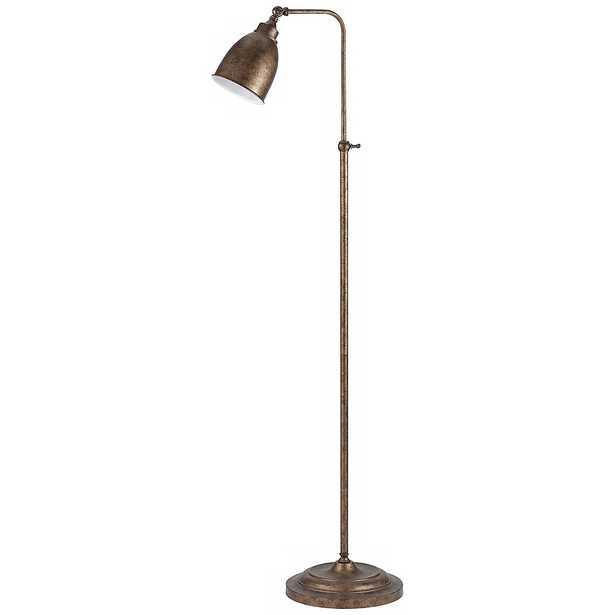 Rust Metal Adjustable Pole Pharmacy Floor Lamp - Style # K1111 - Lamps Plus