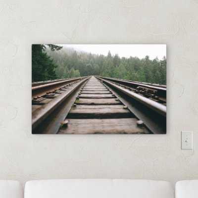 'Steel (81)' Photographic Print on Canvas - Wayfair