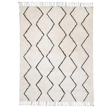 Souk Wool Rug, 8'x10', Ivory - West Elm