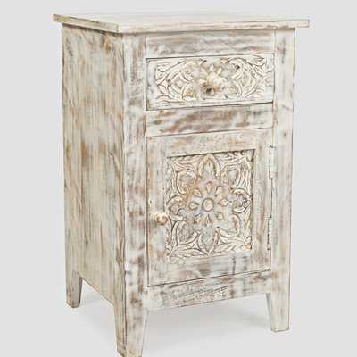 Callimont Solid Wood End Table with Storage - Birch Lane