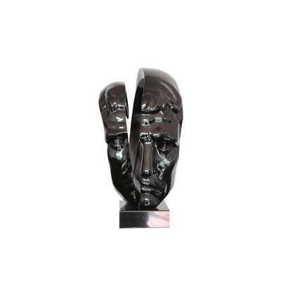 Clower Statue Modern Black Sculpture - Wayfair