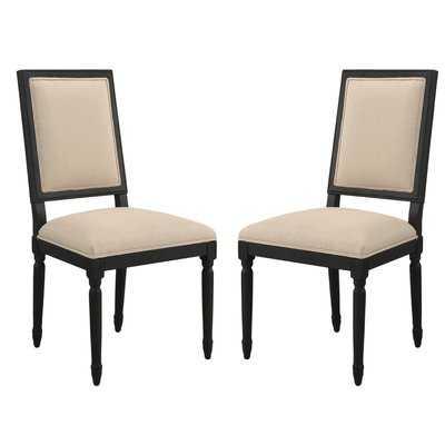 Clatterbuck Upholstered Dining Chairs (set of 2) - Wayfair
