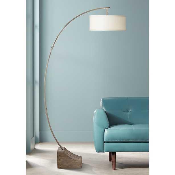 Uttermost Valance Arc Floor Lamp - Style # 47D10 - Lamps Plus