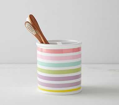 Rainbow Bath Accessories, Toothbrush Holder - Pottery Barn Kids