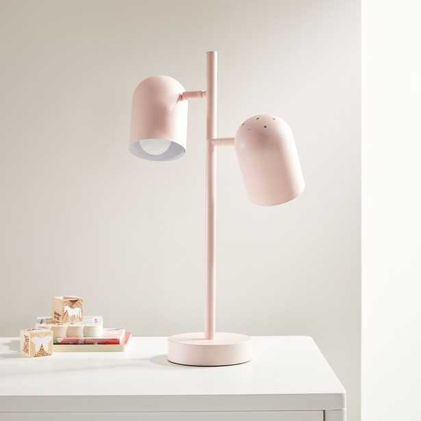 Pink Touch Table Lamp - Crate and Barrel