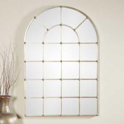 Metal Arch Window Wall Mirror - Wayfair